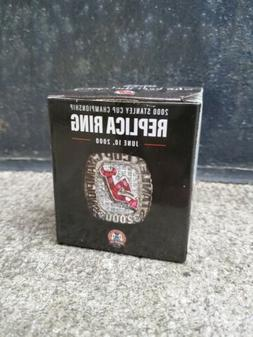 New Jersey Devils Replica 2000 Stanley cup Ring Givaway Rare