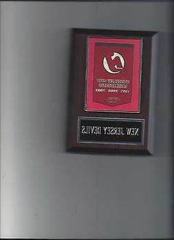 NEW JERSEY DEVILS STANLEY CUP BANNER PLAQUE CHAMPS CHAMPIONS