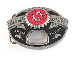 NEW JERSEY DEVILS TAILGATER BELT BUCKLE 23113 new hockey spo