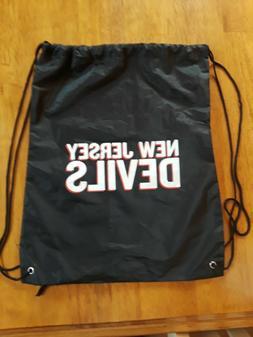 New Jersey Devils Drawstring Bag NJ Hockey Stanley Cup Brand
