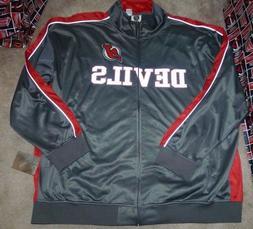 NEW NHL New Jersey Devils Full Zip Track Reflective Jacket C