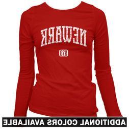 Newark 973 Women's Long Sleeve T-shirt LS - NJ New Jersey De
