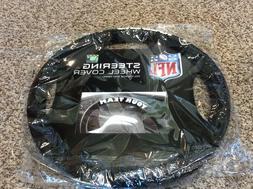 NFL Oakland Raiders Poly-Suede Steering Wheel Cover Auto Acc