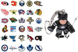 nhl goalie keychain choose your team