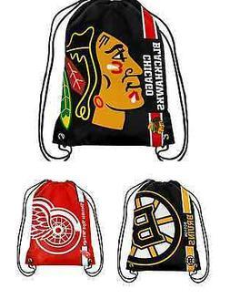 NHL Hockey Team Logo 2015 Drawstring Backpack - Pick Your Te