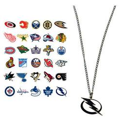NHL Logo Necklace - Choose Your Team