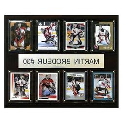 NHL Martin Brodeur New Jersey Devils 8 Card Plaque