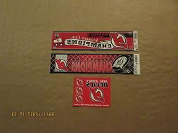 NHL New Jersey Devils 1995 & 2003 Stanley Cup Champs & Stick