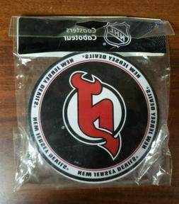 nhl new jersey devils pvc coaster 4