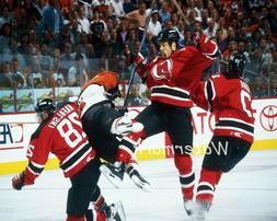 NHL New Jersey Devils Scott Stevens Crushing Eric Lindros Co