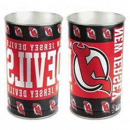 """NHL New Jersey Devils Wastebasket Tapered, 15""""H"""