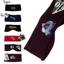 NHL Team Logo Winter Head Bands Ear Warmers