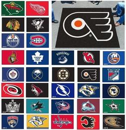 NHL Teams - 5' X 6' Tailgater Area Rug Floor Mat