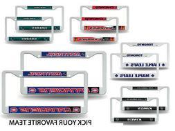 NHL Teams - Hockey Plastic  License Plate Frame Set Car Truc