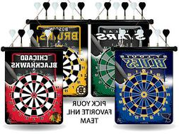 NHL Teams - Officially Licensed Magnetic Dart Board