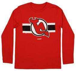 Reebok NHL Youth New Jersey Devils Honor Code Long Sleeve Te