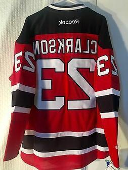 Reebok Premier NHL New Jersey Devils Clarkson JERSEY Red sz