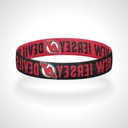 Reversible New Jersey Devils Bracelet Wristband Go Devils