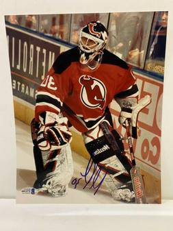 SIGNED NEW JERSEY DEVILS MARTIN BRODEUR 8x10 PHOTO TOP100 HH