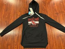 CCM Women's New Jersey Devils Fleece Hoodie Sweatshirt Jer